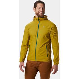 Mountain Hardwear Kor Preshell Veste à capuche Homme, dark citron